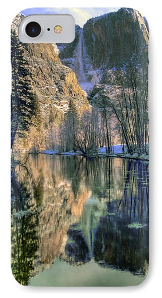 Winter Falls Phone Case by Bill Gallagher