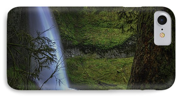 Winter Falls IPhone Case by Jean-Jacques Thebault