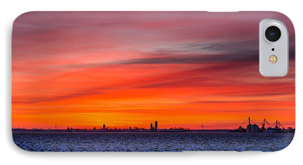 Winter Farmland IPhone Case