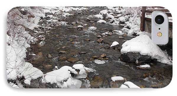 Winter Flow IPhone Case by Adam Cornelison