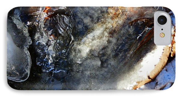 Winter  Flows IPhone Case by Carolyn Cable