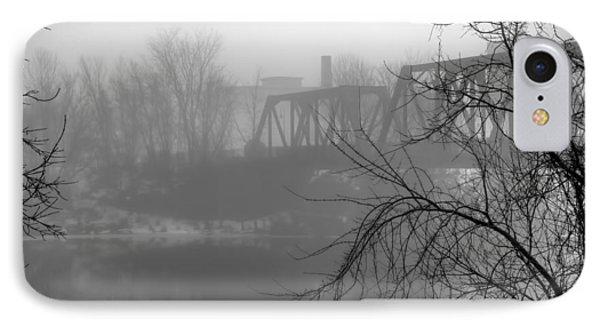 Winter Fog Phone Case by Bob Orsillo