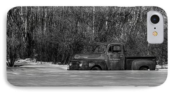 Winter Ford Truck 1 Phone Case by Thomas Young
