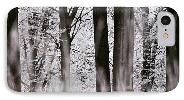 Winter Forest 1 Phone Case by Heiko Koehrer-Wagner