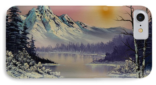 Morning Frost IPhone Case by C Steele
