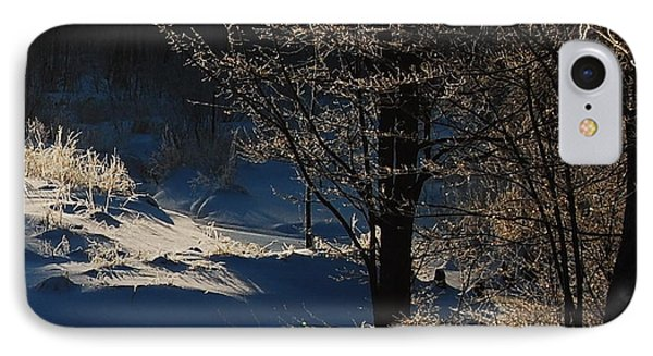 Winter Glow IPhone Case by Mim White
