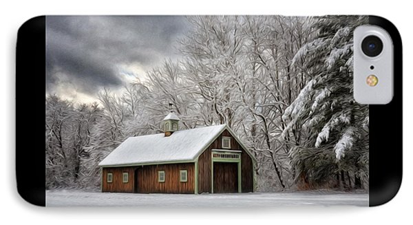 Winter Glow IPhone Case by Tricia Marchlik