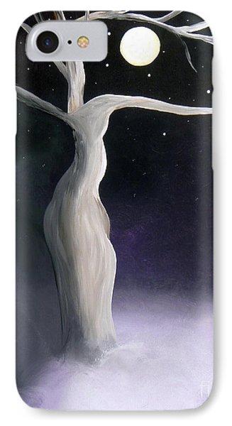 Winter Goddess Phone Case by Alys Caviness-Gober