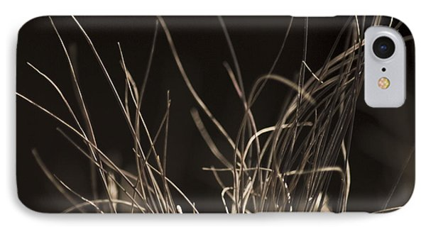 IPhone 7 Case featuring the photograph Winter Grass 2 by Yulia Kazansky