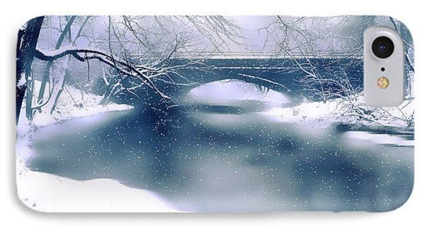 Winter Haiku IPhone Case