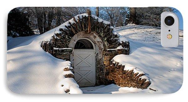 Winter Hobbit Hole IPhone Case