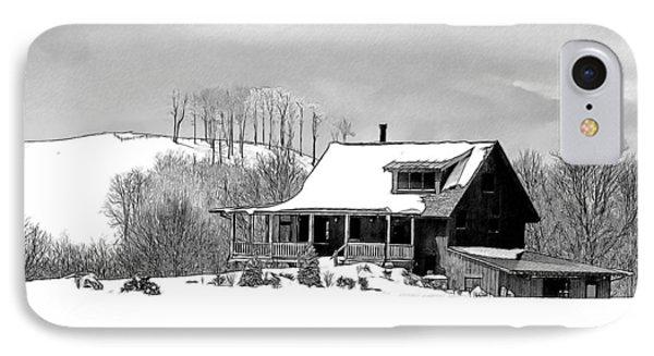 Winter Home Phone Case by John Haldane