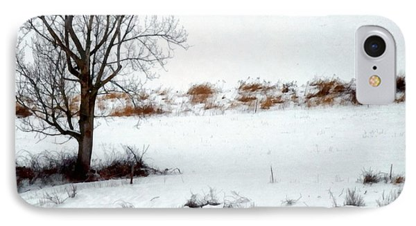 Winter Horse Pasture 2 IPhone Case