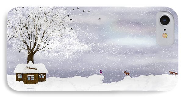 Winter Illustration IPhone Case