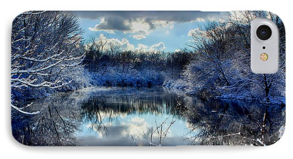 Winter In April 2014 IPhone Case by Jerome Lynch