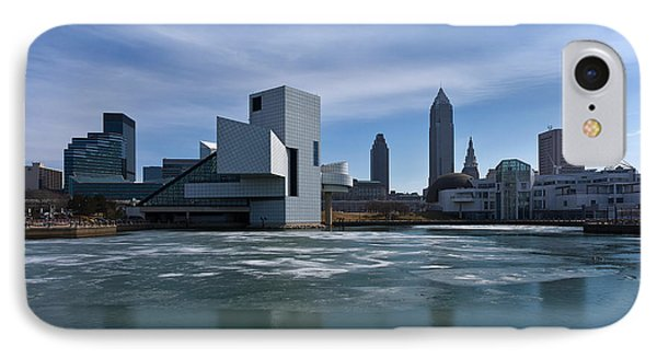 Winter In Cleveland Phone Case by Dale Kincaid