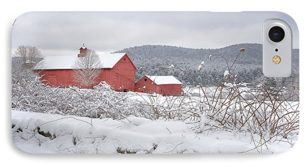 Winter In Connecticut IPhone 7 Case by Bill Wakeley