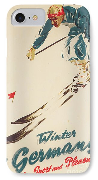 Winter In Germany IPhone Case by H Plessen