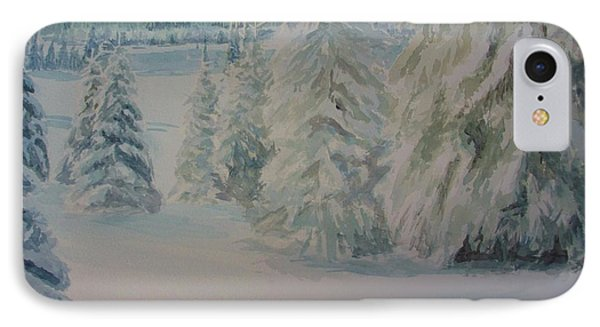 Winter In Gyllbergen IPhone Case by Martin Howard