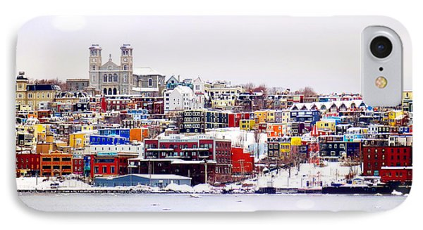 Winter In St. John's IPhone Case by Zinvolle Art