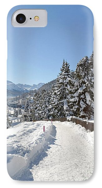Winter In Switzerland Phone Case by Design Windmill