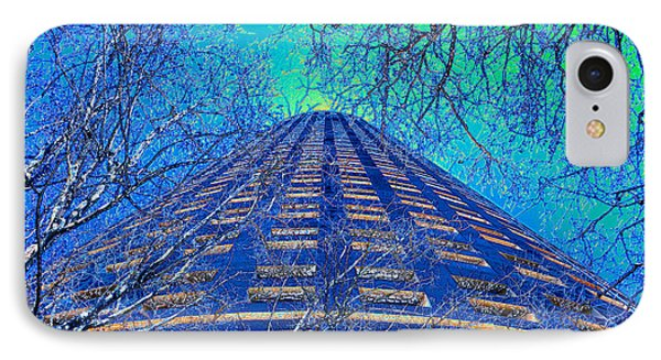 Winter In The City IPhone Case by David Lee Thompson