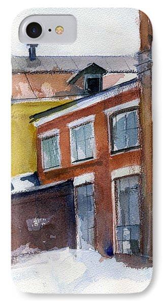 Winter In The City Phone Case by Lelia Sorokina