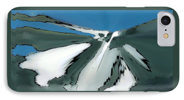 Winter In The Mountains Phone Case by Ben and Raisa Gertsberg