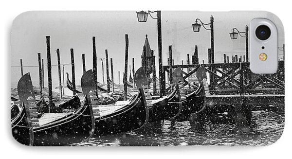Winter In Venice IPhone Case