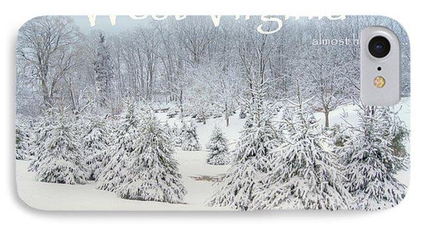 Winter In West Virginia Phone Case by Benanne Stiens