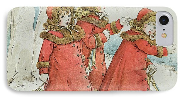 Winter IPhone Case by Kate Greenaway
