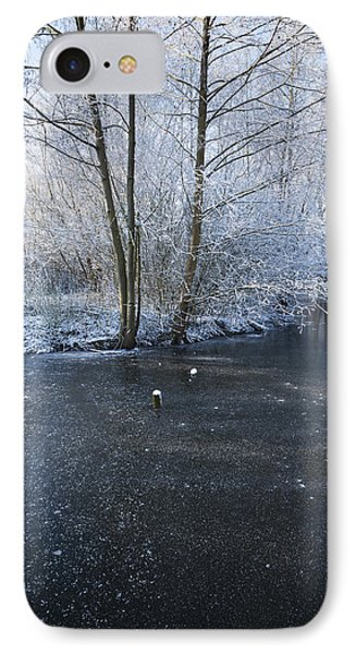 Winter Lake IPhone Case by Svetlana Sewell