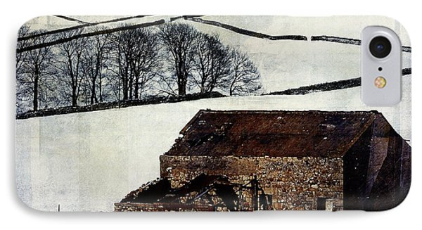 Winter Landscape 1 Phone Case by Mark Preston