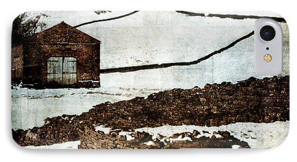 Winter Landscape 2 Phone Case by Mark Preston