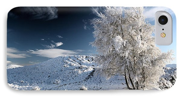 Winter Landscape IPhone Case by Grant Glendinning