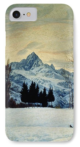 Winter Landscape IPhone Case by Matteo Olivero