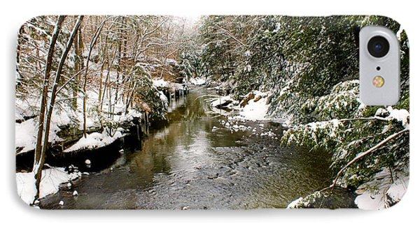 Winter Landscape IPhone Case by Michelle Joseph-Long