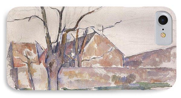 Winter Landscape IPhone Case by Paul Cezanne