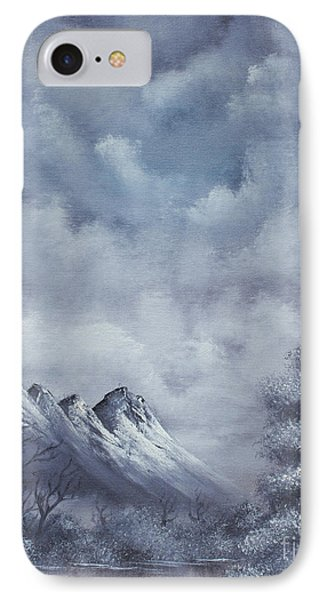 Winter Landscape Phone Case by Troy Wilfong