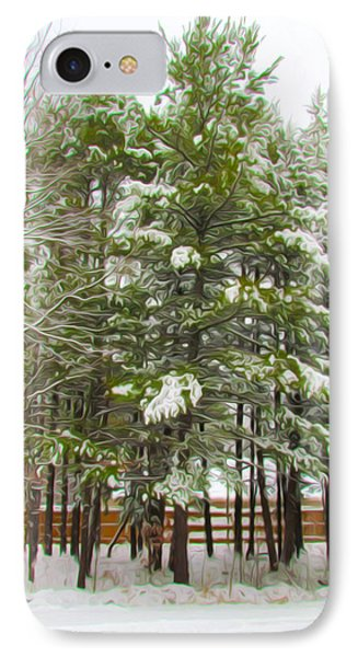 Winter Landscapes Phone Case by Lanjee Chee