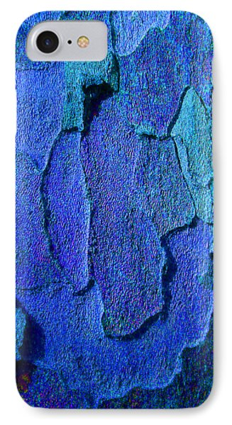 Winter London Plane Tree Abstract 4 Phone Case by Margaret Saheed