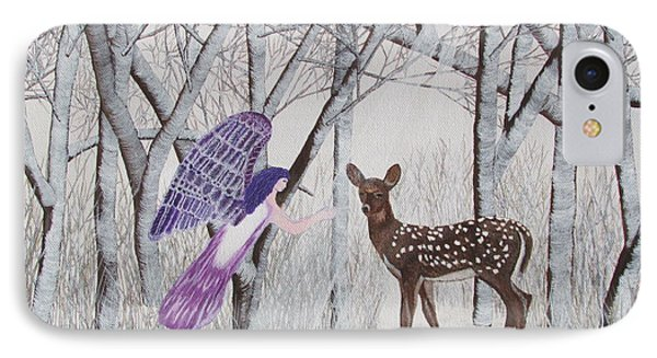 Winter Magic IPhone Case by Cheryl Bailey