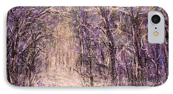 Winter Magic IPhone Case by Natalie Holland
