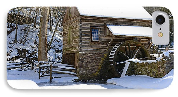 Winter Mill IPhone Case by Paul Ward