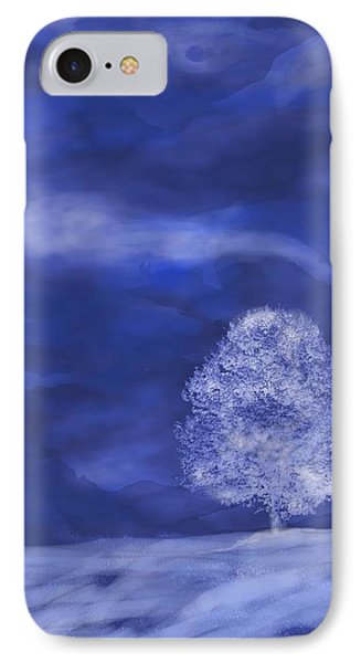 IPhone Case featuring the digital art Winter Mist by Mary Armstrong