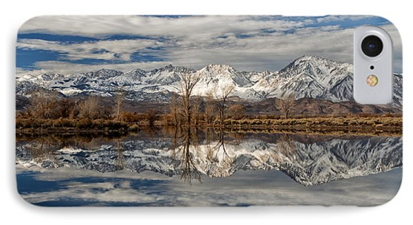 Winter Morning At Farmers Pond IPhone Case by Cat Connor