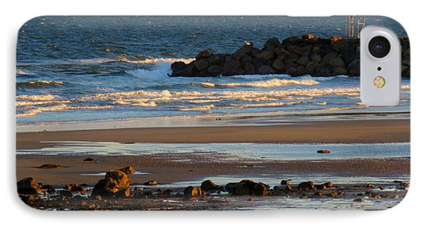Winter Morning At Sesuit Harbor IPhone Case by Dianne Cowen