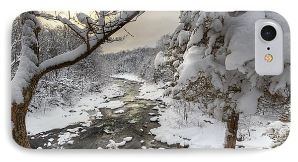 Winter Morning Phone Case by Bill Wakeley