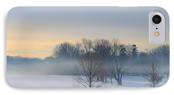 Winter Morning Fog IPhone Case