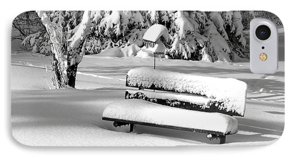 IPhone Case featuring the photograph Winter Morning by Susan  Dimitrakopoulos